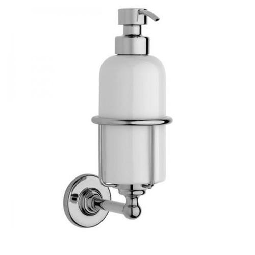 Chrome Plated Samuel Heath Antique Liquid Soap Dispenser N4347
