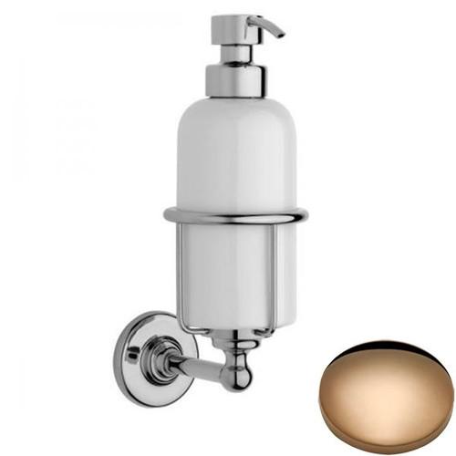 Antique Gold Samuel Heath Antique Liquid Soap Dispenser N4347