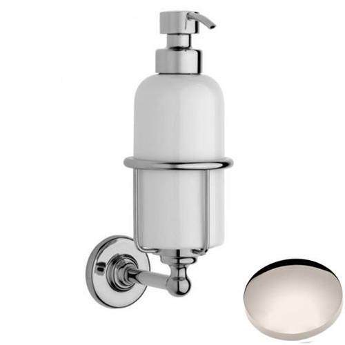 Polished Nickel Samuel Heath Antique Liquid Soap Dispenser N4347