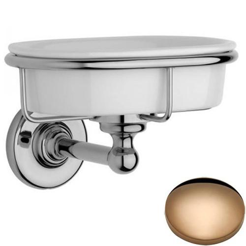 Antique Gold Samuel Heath Antique Soap Dish N4334