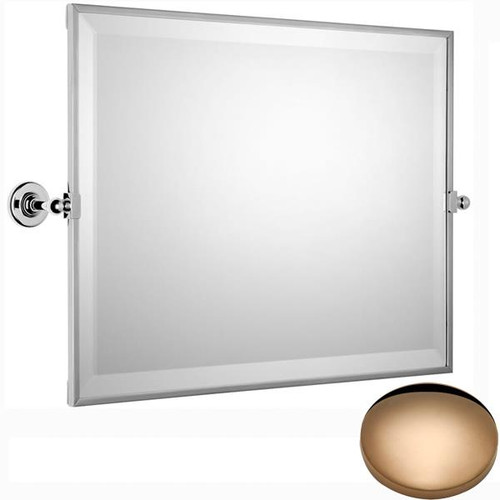 Antique Gold Samuel Heath Antique Framed Horizontal Mirror N4343