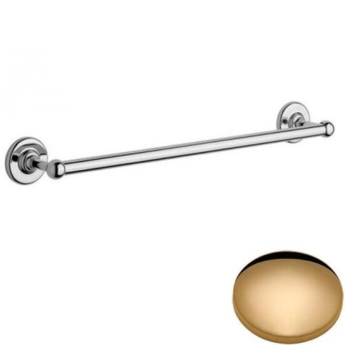 Non-Lacquered Brass Samuel Heath Antique Metal Towel Rail N4355