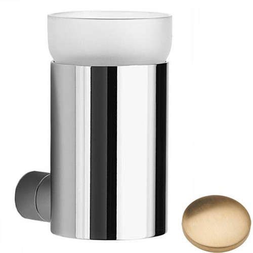 Brushed Gold Unlacquered Samuel Heath Xenon Toothbrush Holder N5045