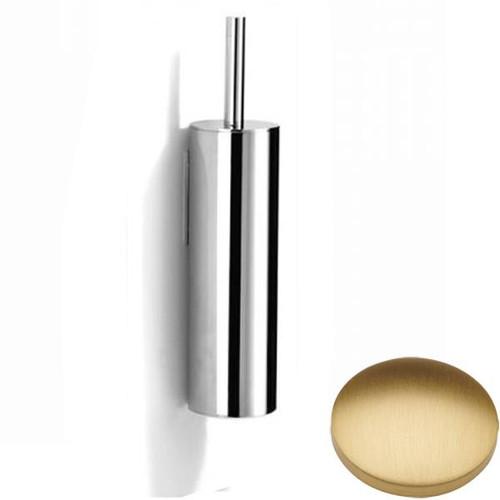 Brushed Gold Matt Samuel Heath Xenon Wall Mounted Toilet Brush L5042