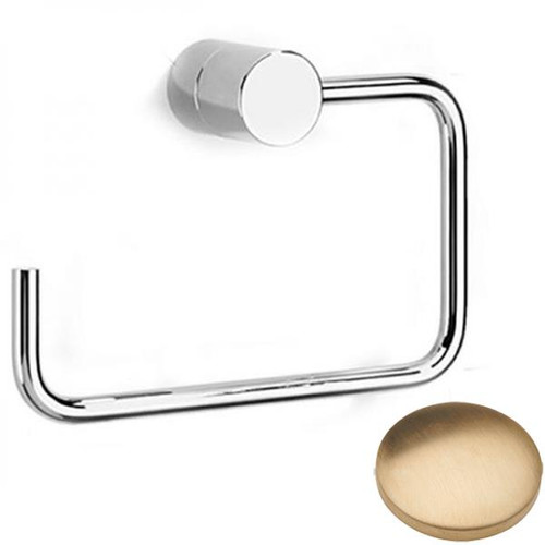 Brushed Gold Unlacquered Samuel Heath Xenon Toilet Roll Holder N5037