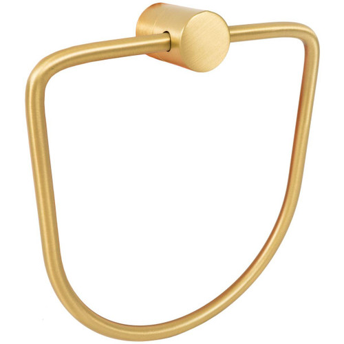 Brushed Gold Matt Samuel Heath Xenon Towel Ring N5098