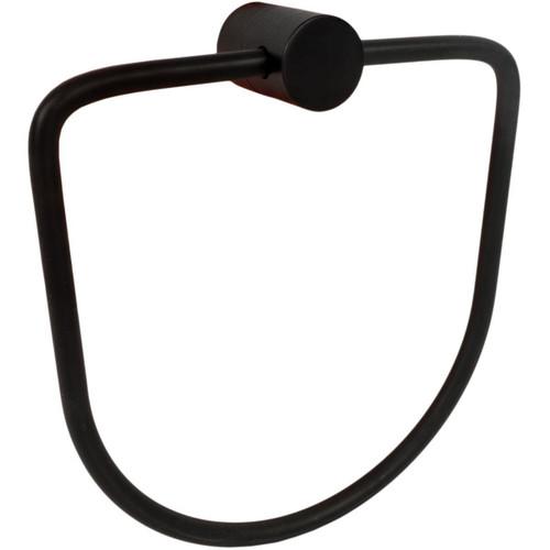 Matt Black Chrome Samuel Heath Xenon Towel Ring N5098
