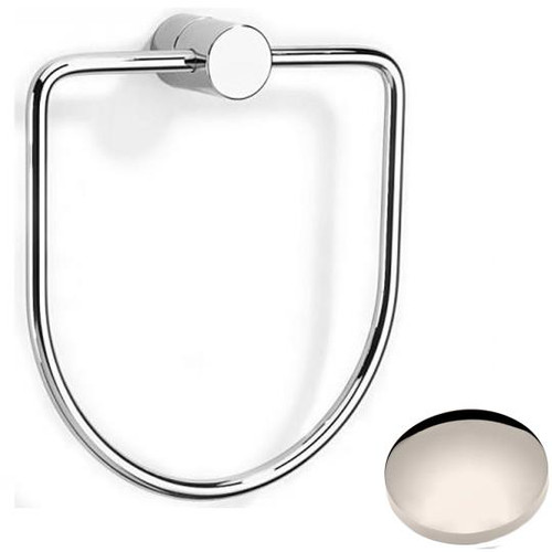 Polished Nickel Samuel Heath Xenon Towel Ring N5098