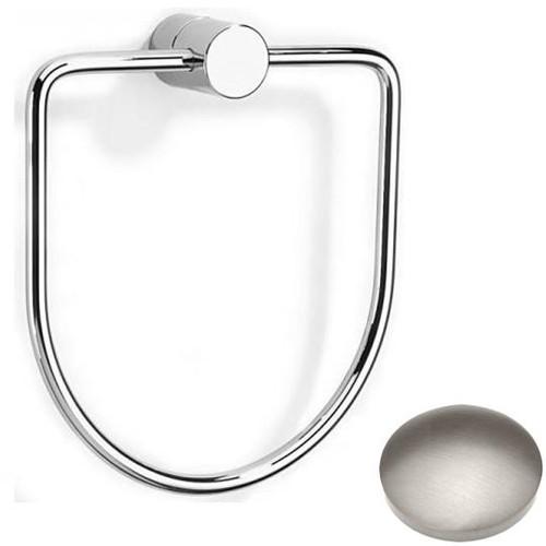 Stainless Steel Finish Samuel Heath Xenon Towel Ring N5098