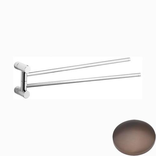 City Bronze Samuel Heath Xenon Swivel Towel Rail N5094