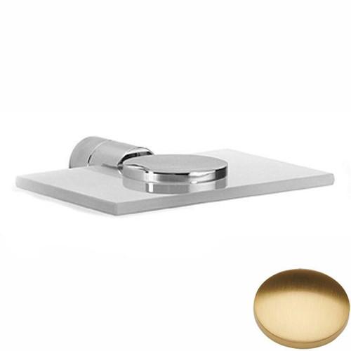 Brushed Gold Gloss Samuel Heath Xenon Soap Holder N5034