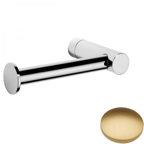 Brushed Gold Matt Samuel Heath Xenon Single Arm Toilet Roll Holder N5091