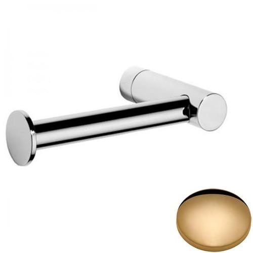 Non-Lacquered Brass Samuel Heath Xenon Single Arm Toilet Roll Holder N5091