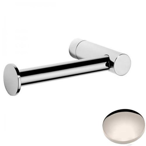 Polished Nickel Samuel Heath Xenon Single Arm Toilet Roll Holder N5091