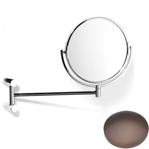 City Bronze Samuel Heath Xenon Pivotal Mirror Plain / Magnifying L5118