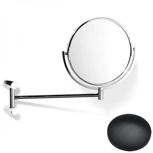 Matt Black Chrome Samuel Heath Xenon Pivotal Mirror Plain / Magnifying L5118