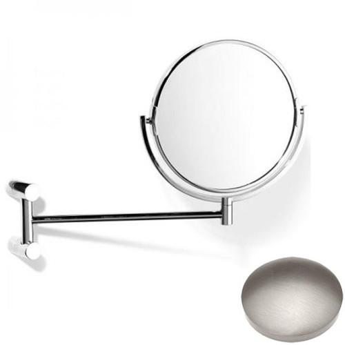 Stainless Steel Finish Samuel Heath Xenon Pivotal Mirror Plain / Magnifying L5118