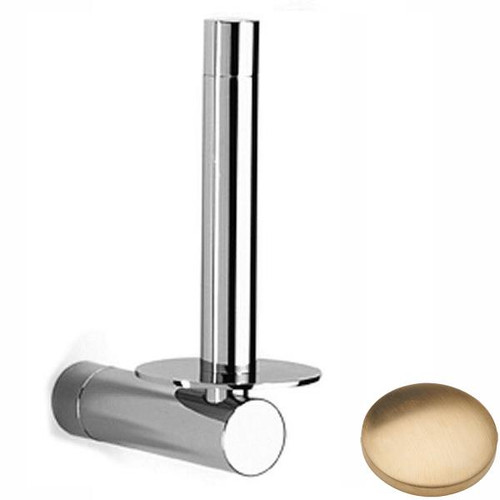 Brushed Gold Unlacquered Samuel Heath Xenon Spare Toilet Roll Holder N5031