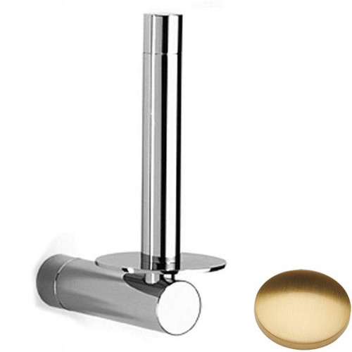 Brushed Gold Gloss Samuel Heath Xenon Spare Toilet Roll Holder N5031