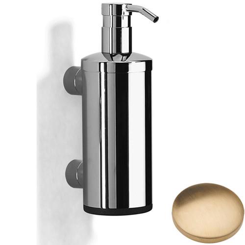 Brushed Gold Unlacquered Samuel Heath Xenon Liquid Soap Dispenser N5304