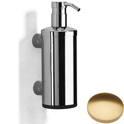 Brushed Gold Gloss Samuel Heath Xenon Liquid Soap Dispenser N5304