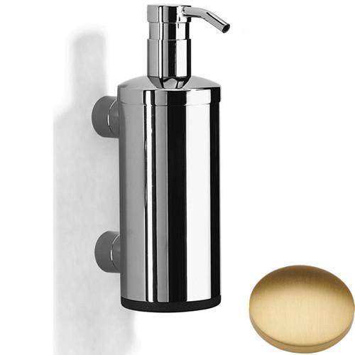 Brushed Gold Matt Samuel Heath Xenon Liquid Soap Dispenser N5304