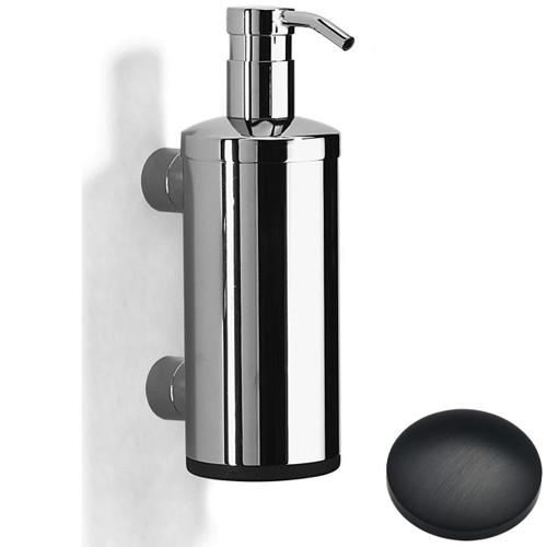 Matt Black Chrome Samuel Heath Xenon Liquid Soap Dispenser N5304