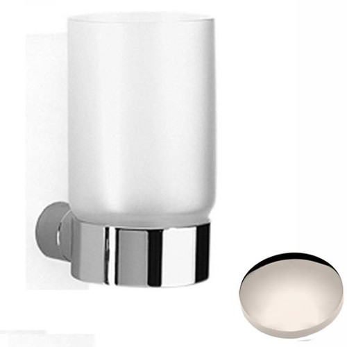 Polished Nickel Samuel Heath Xenon Frosted Glass Tumbler N5035