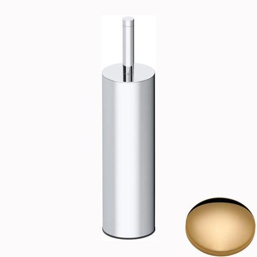 Non-Lacquered Brass Samuel Heath Xenon Freestanding Toilet Brush L5044