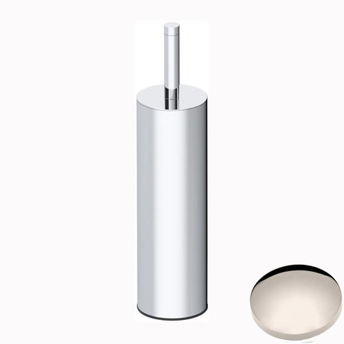 Polished Nickel Samuel Heath Xenon Freestanding Toilet Brush L5044