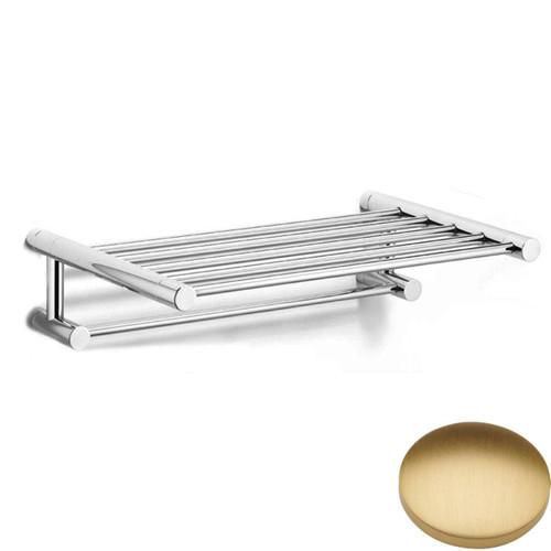 Brushed Gold Matt Samuel Heath Xenon Towel Shelf N5173