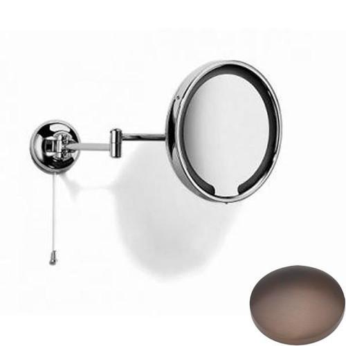 City Bronze Samuel Heath Novis Double Arm LED Illuminated Magnifying Pivotal Mirror N510-3