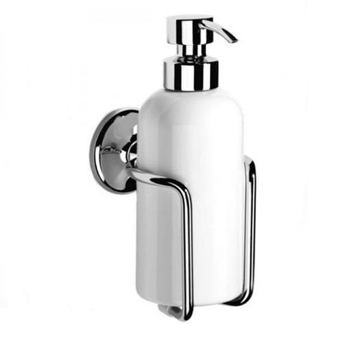 Chrome Plated Samuel Heath Novis Liquid Soap Dispenser N1047