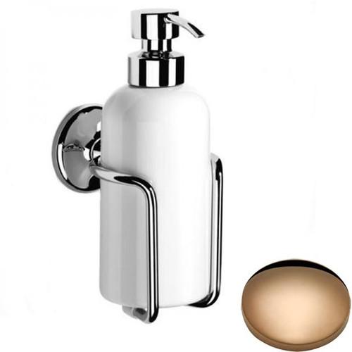 Antique Gold Samuel Heath Novis Liquid Soap Dispenser N1047