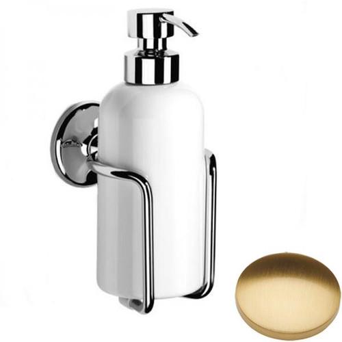 Brushed Gold Gloss Samuel Heath Novis Liquid Soap Dispenser N1047