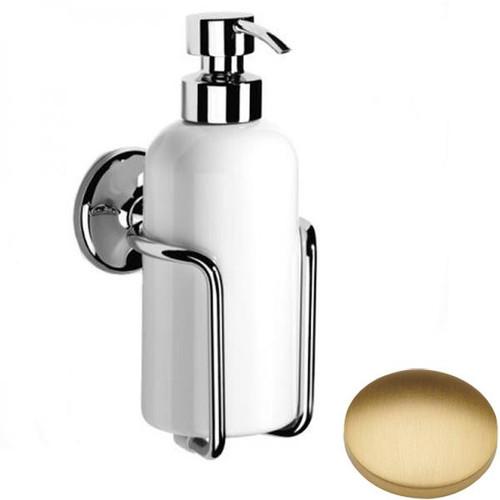 Brushed Gold Matt Samuel Heath Novis Liquid Soap Dispenser N1047