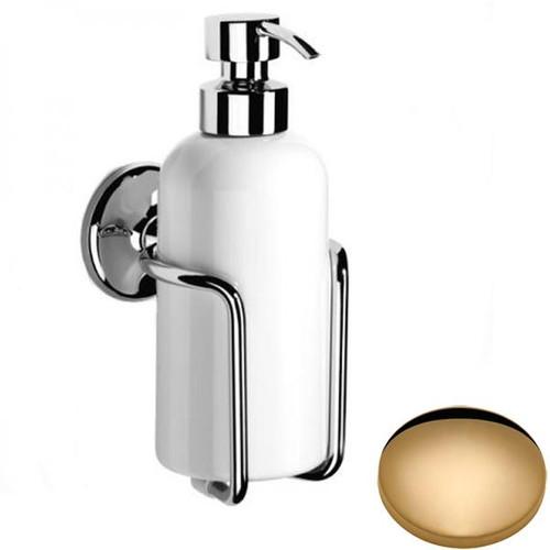 Non-Lacquered Brass Samuel Heath Novis Liquid Soap Dispenser N1047