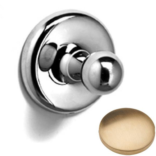 Brushed Gold Unlacquered Samuel Heath Novis Robe Ball Hook N1032