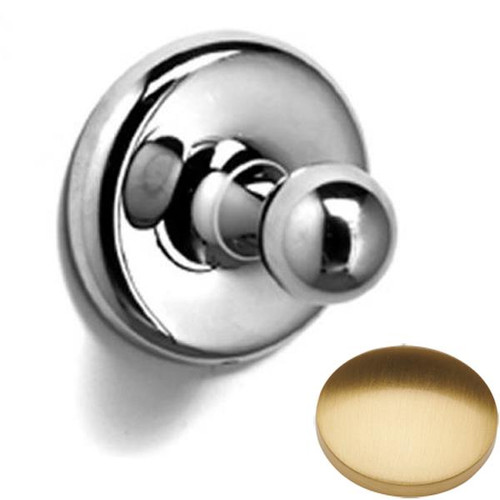 Brushed Gold Gloss Samuel Heath Novis Robe Ball Hook N1032