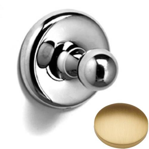 Brushed Gold Matt Samuel Heath Novis Robe Ball Hook N1032