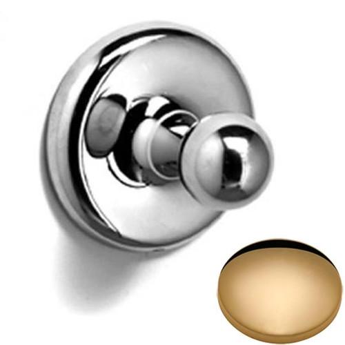 Non-Lacquered Brass Samuel Heath Novis Robe Ball Hook N1032