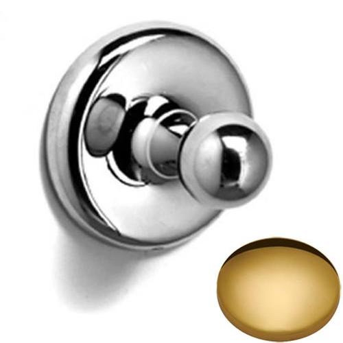 Polished Brass Samuel Heath Novis Robe Ball Hook N1032