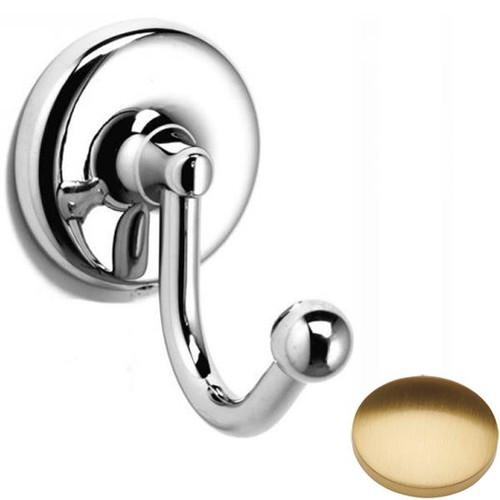 Brushed Gold Gloss Samuel Heath Novis Robe Hook N1048