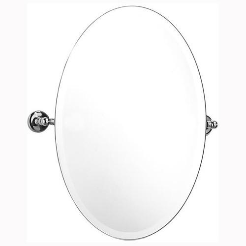 Chrome Plated Samuel Heath Novis Oval Tilting Mirror L1146