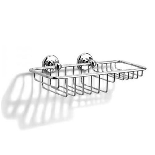 Chrome Plated Samuel Heath Novis Soap & Sponge Basket N1026-W