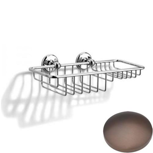 City Bronze Samuel Heath Novis Soap & Sponge Basket N1026-W
