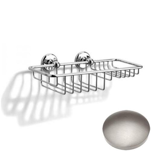 Stainless Steel Finish Samuel Heath Novis Soap & Sponge Basket N1026-W
