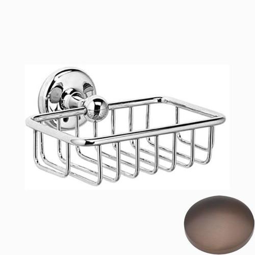 City Bronze Samuel Heath Novis Soap Basket N1030
