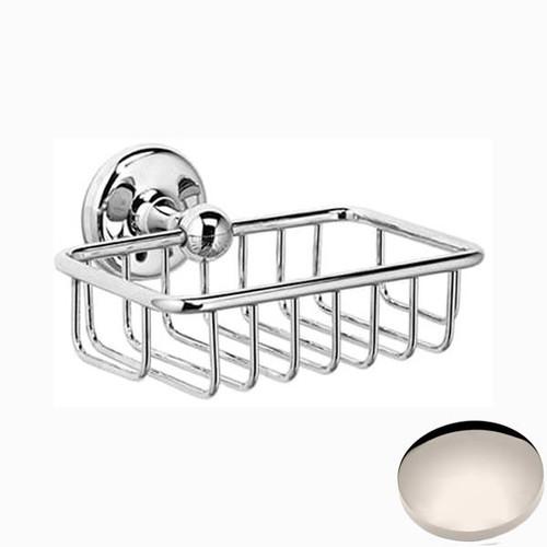 Polished Nickel Samuel Heath Novis Soap Basket N1030