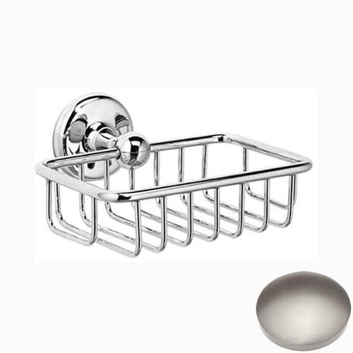 Stainless Steel Finish Samuel Heath Novis Soap Basket N1030